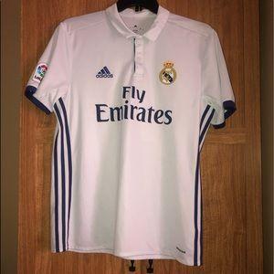 🔥Large Adidas Real Madrid Ronaldo Jersey 🔥